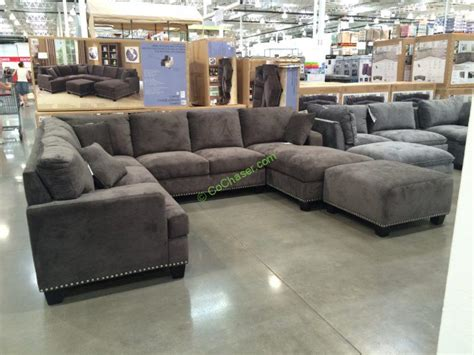 costco sofas sectionals costco sectional dimensions 120 8 in w x 35 in h