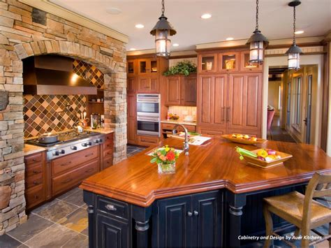 mixing kitchen cabinet styles  finishes hgtv