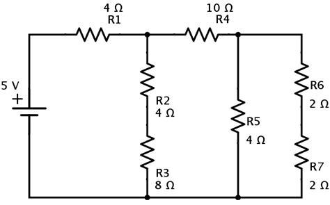 Series Parallel Circuit Examples Resistors