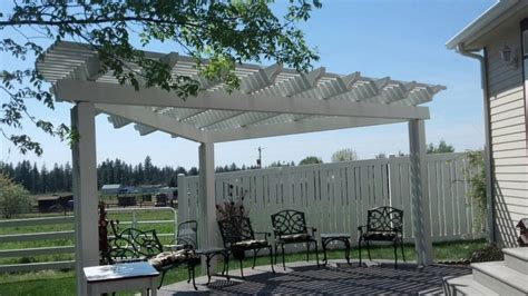 beautiful free standing pergola patio outdoors awning