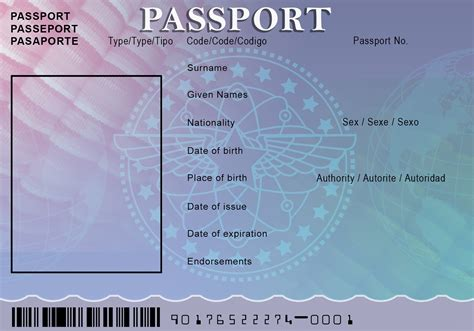 Passport Template Passport Template Word Christopherbathum Co