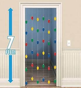 Christmas Door Decorations & Door Curtains Christmas