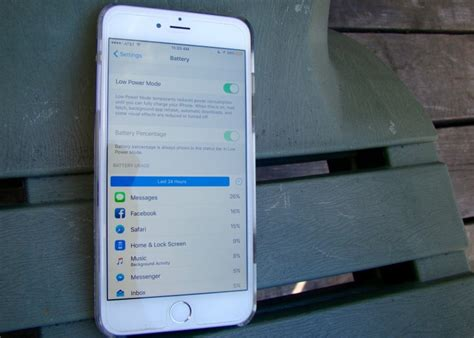 iphone battery saver mode save your battery with ios 9 low power mode