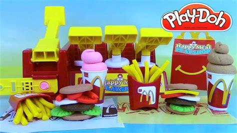 pat a modeler play doh p 226 te 224 modeler play doh mcdonald s happy meal playshop playset frites hamburgers