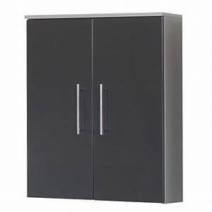 Bücherregal 20 Cm Tief : stilvoller h ngeschrank elira in grau 20 cm tief ~ Indierocktalk.com Haus und Dekorationen
