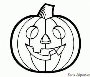 Citrouille Halloween Dessin : coloriage citrouille d 39 halloween sans d passer ~ Melissatoandfro.com Idées de Décoration