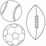 Coloring Ball Soccer Logos sketch template