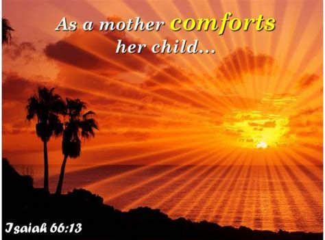 isaiah     mother comforts  child powerpoint