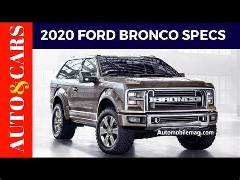 ford bronco jalopnik price specs review