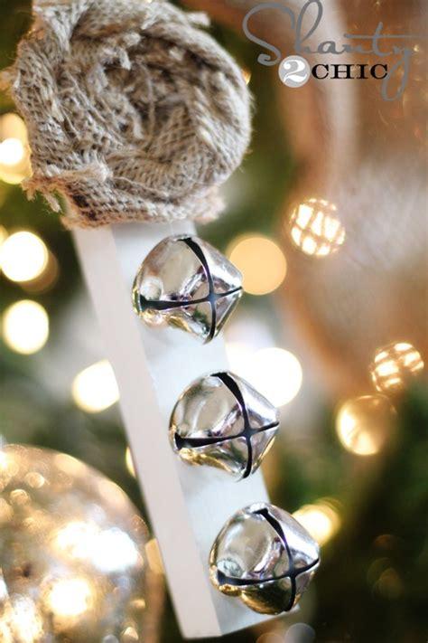 jingle bell ornaments to make diy ornament jingle bells shanty 2 chic