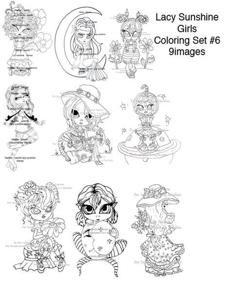 coloring set lacy coloring pages set 6