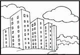 Neighborhood Coloring Pages Coloringpages101 Updated sketch template