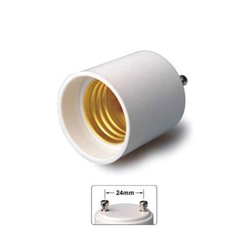4pcs adapter converts pin base fixture gu24 to standard