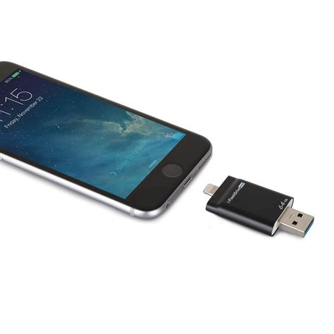 iphone flash drive the fastest iphone flash drive hammacher schlemmer