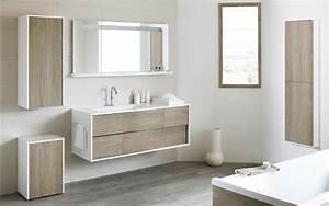 meuble salle de bain bois massif With bain en bois