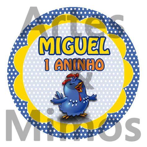 adesivo pirulito galinha pintadinha artes mimos elo7
