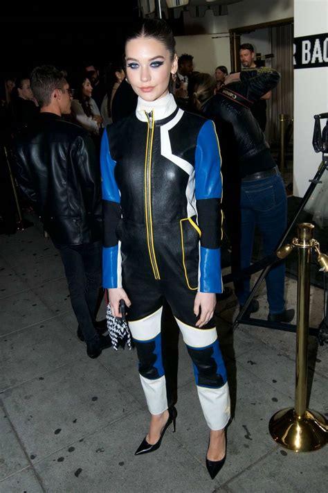 amanda steele attends fashion nova x cardi b collection ...