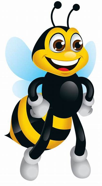 Bee Bumble Clipart Bees Animated Bumblebee Clip