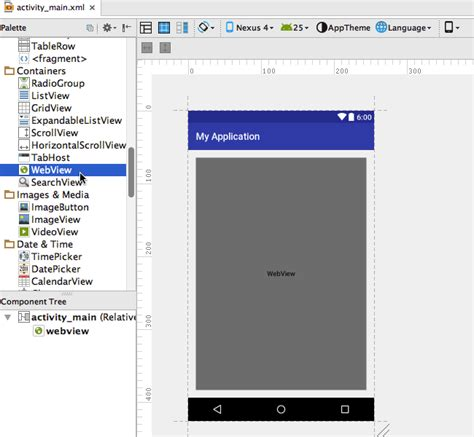 android id working with webview displaying web content inside your
