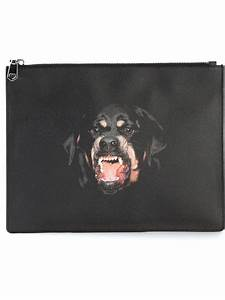 Givenchy Rottweiler Print Clutch in Black for Men | Lyst