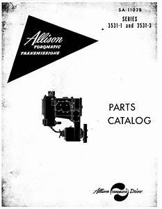 Allison 3531 Series Parts Catalog For Powershift Models