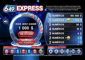 Loto Combien Avez Vous Gagné : lotto 6 49 express loteries loto qu bec ~ Medecine-chirurgie-esthetiques.com Avis de Voitures