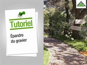 Bache Géotextile Pour Gravier : comment pandre du gravier leroy merlin youtube ~ Dode.kayakingforconservation.com Idées de Décoration