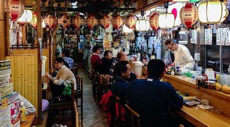 small entertainment stand izakaya japanese restaurants