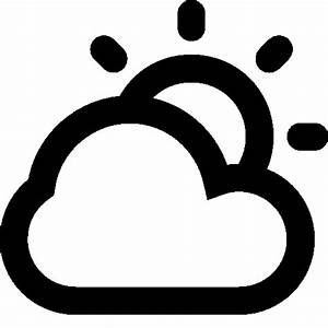 Weather Partly Cloudy Day Icon | Android Iconset | Icons8