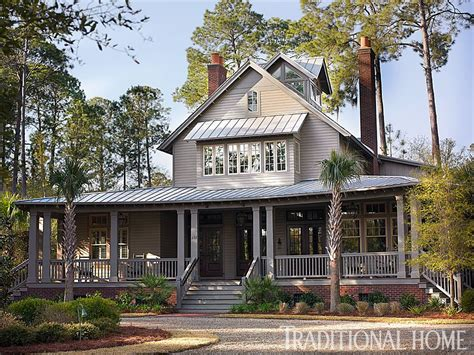 Traditional Country Home by Breezy Lowcountry Home Cornett Home In 2019 Low