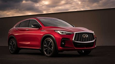 2022 Infiniti QX55 Revealed With All-New, FX-Inspired Styling
