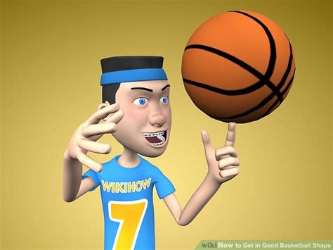 good basketball shape  steps  pictures