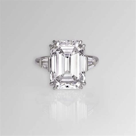 Most Beautiful Emeraldcut Diamond Ings In The World  The