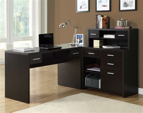 home office l desk monarch specialties 7018 l shaped home office desk in