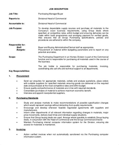 Purchasing Assistant Description Resume by Procurement Manager Description Pr Assistant Cover