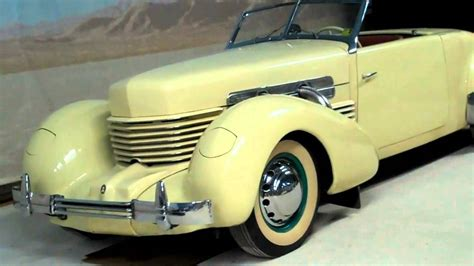 Stock Supercharged Cars by 1937 Supercharged Cord Stock Car Chion