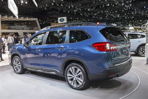 subaru suv    ascent release date set