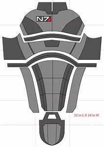 n7 armor pepakura template related keywords n7 armor With mass effect 3 n7 armor template