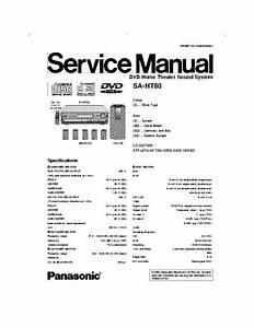 Panasonic Sa He40 Manual