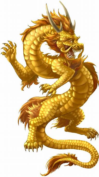 Dragon Chinese Transparent Clipart Clip Library Golden