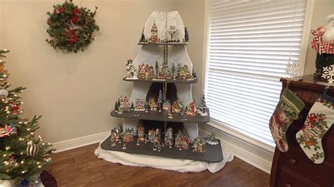 build  holiday display shelf unit todays homeowner