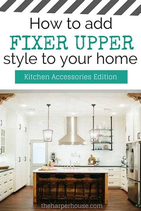 kitchen furniture white how to add quot fixer quot style to your home kitchens