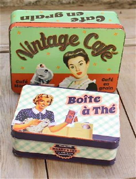 boite deco cuisine boite metal vintage the deco zinc deco cuisine