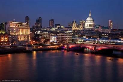 London Londyn Cathedral Anglia Pauls Paul Panorama