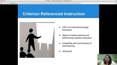 criterion referenced assessment tip criterion referenced instruction youtube