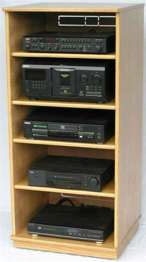 wood working projects audio rack woodworking plans