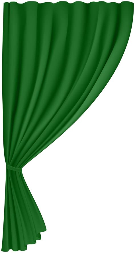 curtain green png clip art image gallery yopriceville