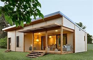 Chalet En Bois Habitable D Occasion : chalet en bois habitable 50 m2 maison eco bois ~ Melissatoandfro.com Idées de Décoration