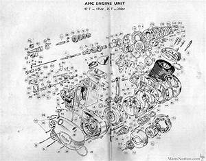 Francis Barnett 1958 Amc Engine Diagram
