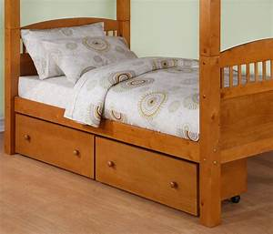 Dorel, Pine, 2, Pack, Underbed, Storage, Drawers